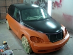 Orange and Black - Front