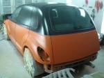 Orange and Black - Left Rear